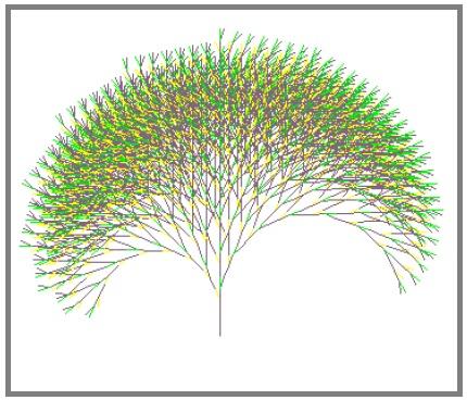 Fractal generator: flower mist